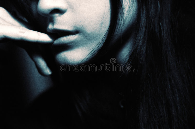 Download Cross Processed Womans Face Stock Photo - Image: 2583972