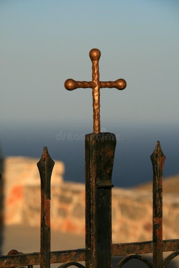 Download Cross, religion stock photo. Image of symbol, metallic - 15733870