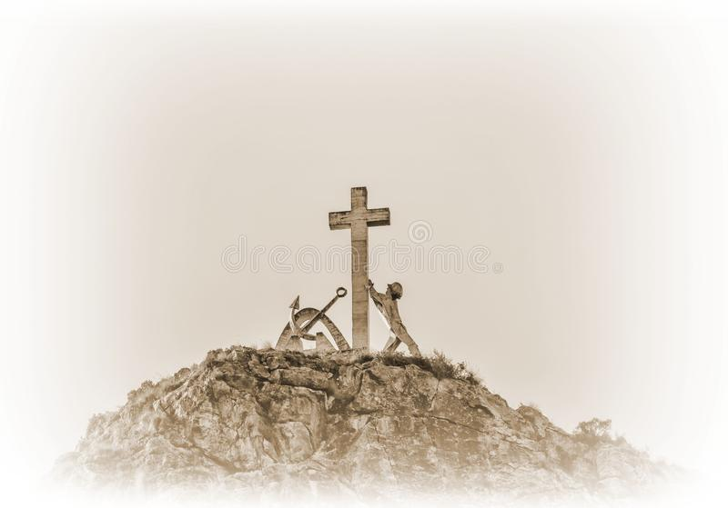 Cross, Religious Item, Symbol, Crucifix royalty free stock images