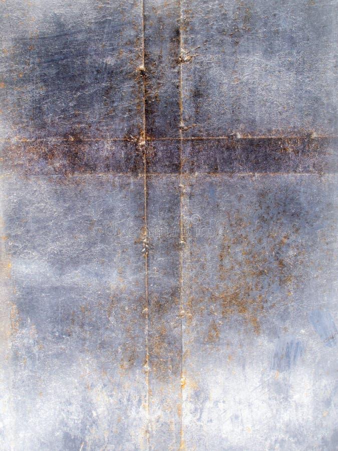 Rusted metal cross stock photography