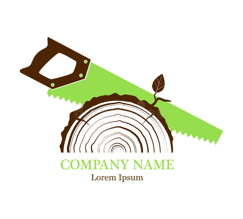 Free Cross Section Of The Trunk With Tree Rings. Vector. Logo. Rings Of Tree Growth. Section Of The Tree Trunk. Flat Icon. Saw A Tree. Stock Photos - 97515383