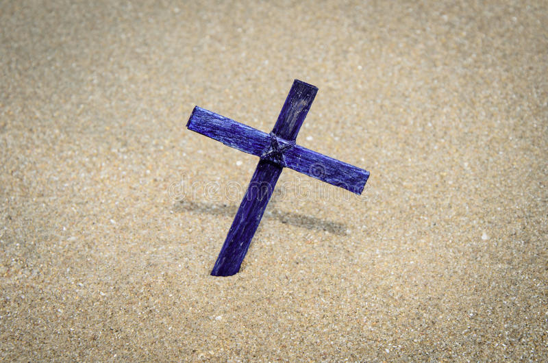 The cross. royalty free stock photography