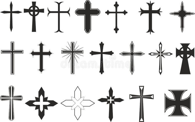 Cross Symbols Stock Vector Illustration Of Resurrection 26485150