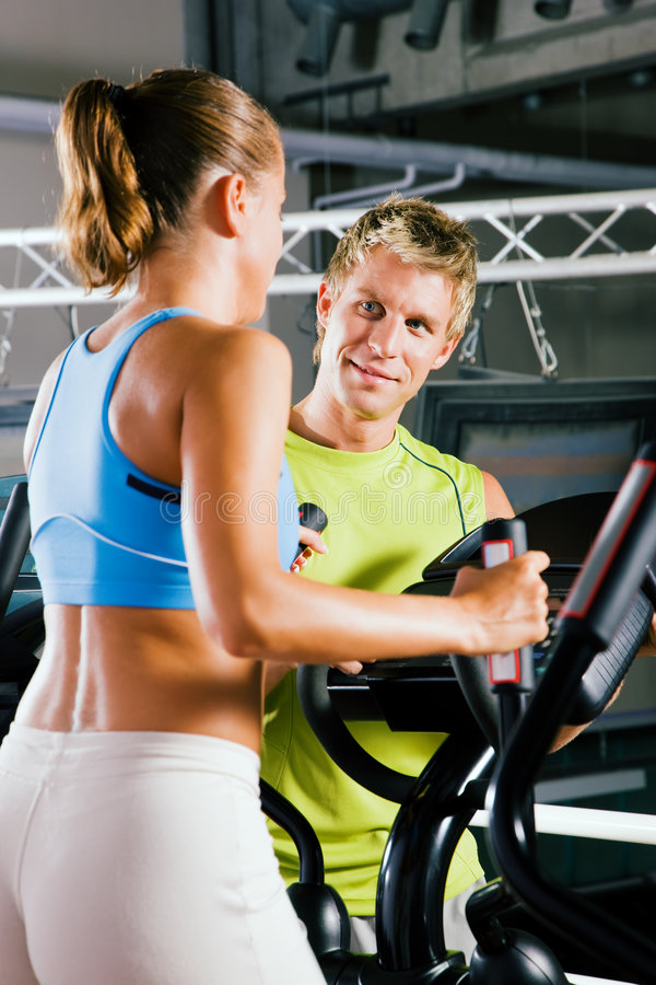 Download Cross training stock photo. Image of trainer, strength - 6388160