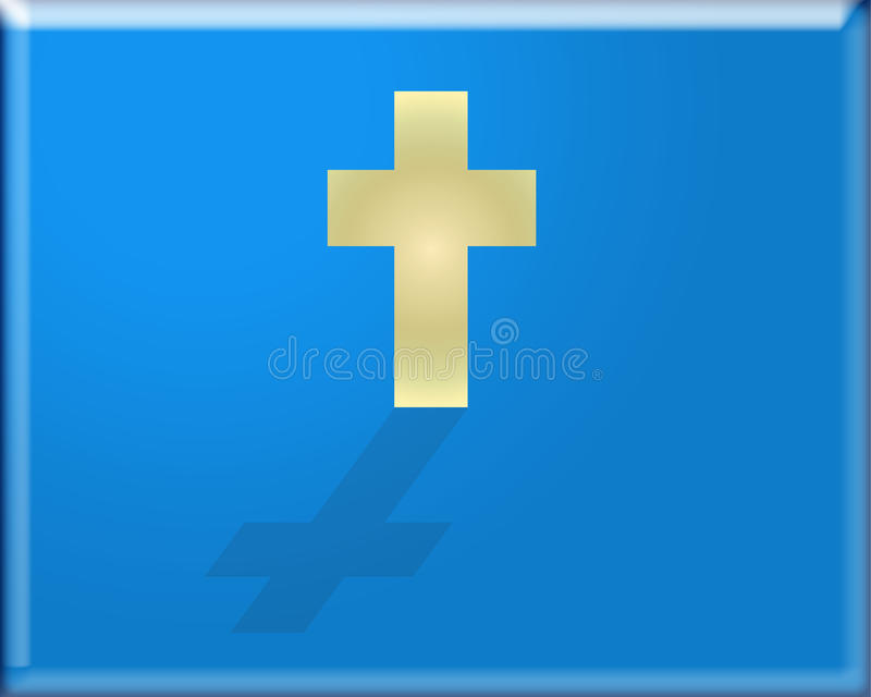Cross Website Button Royalty Free Stock Photo