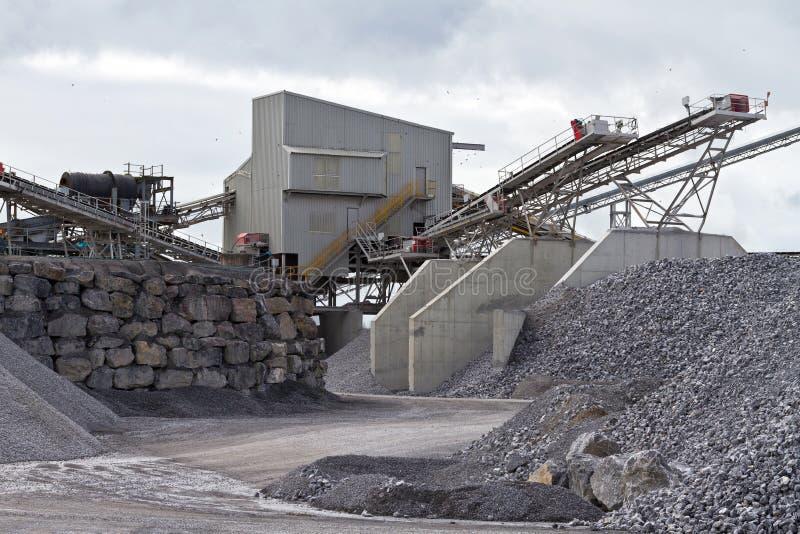 Crossard Quarry Stock Photography