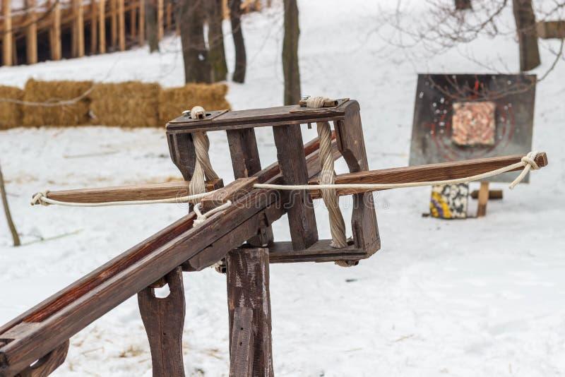crossbow Pfeile für Bogenschießen- und Armbrustschießen Nationale Sportunterhaltung im Freien stockbild