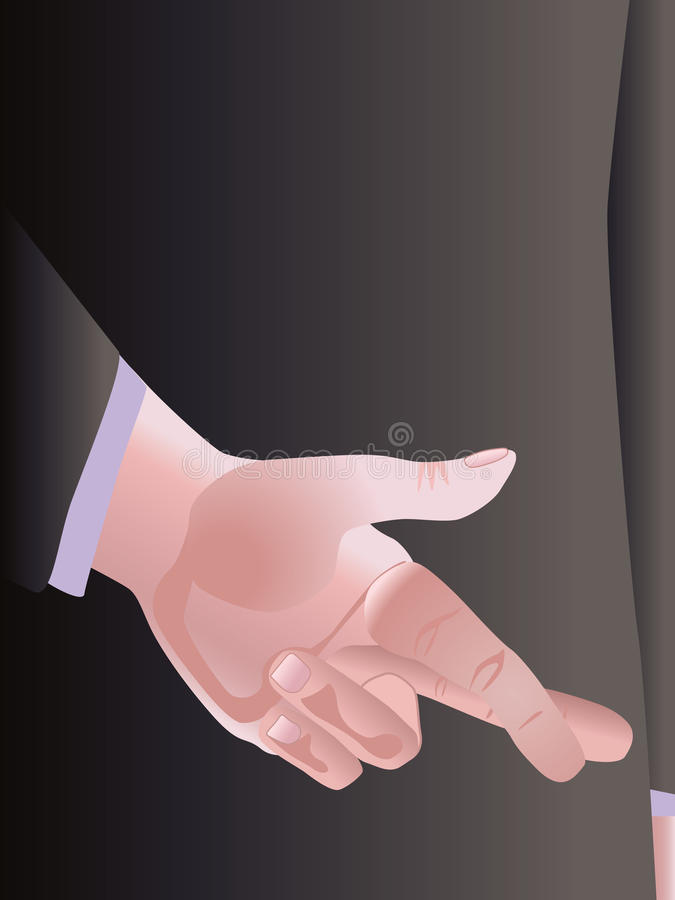 Download Crossed Fingers Royalty Free Stock Photography - Image: 12289247