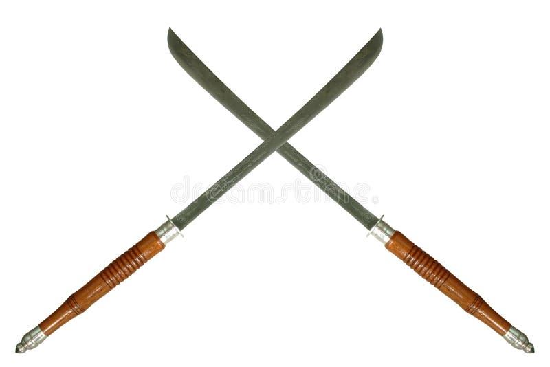 Crossed Swords Stock Image
