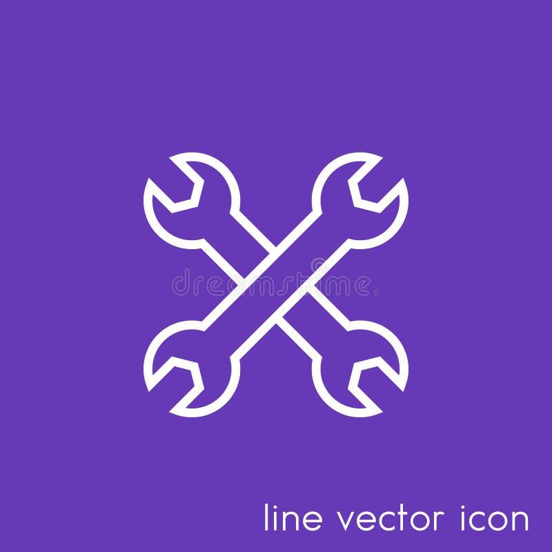 Tools Icon, Configuration, Repair Stock Vector