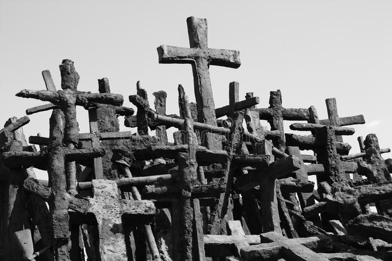 Crosses stock photos
