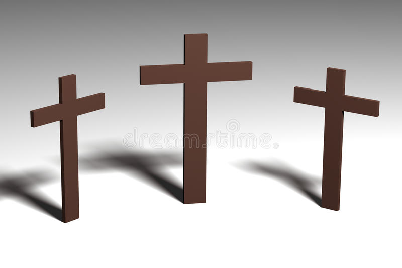 Crosses Royalty Free Stock Photo