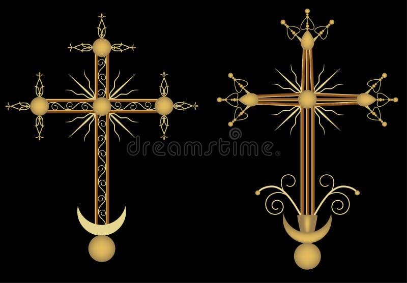 Download Crosses stock vector. Image of symbol, religion, illustration - 18210790