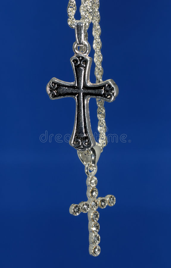 Crosses stock image