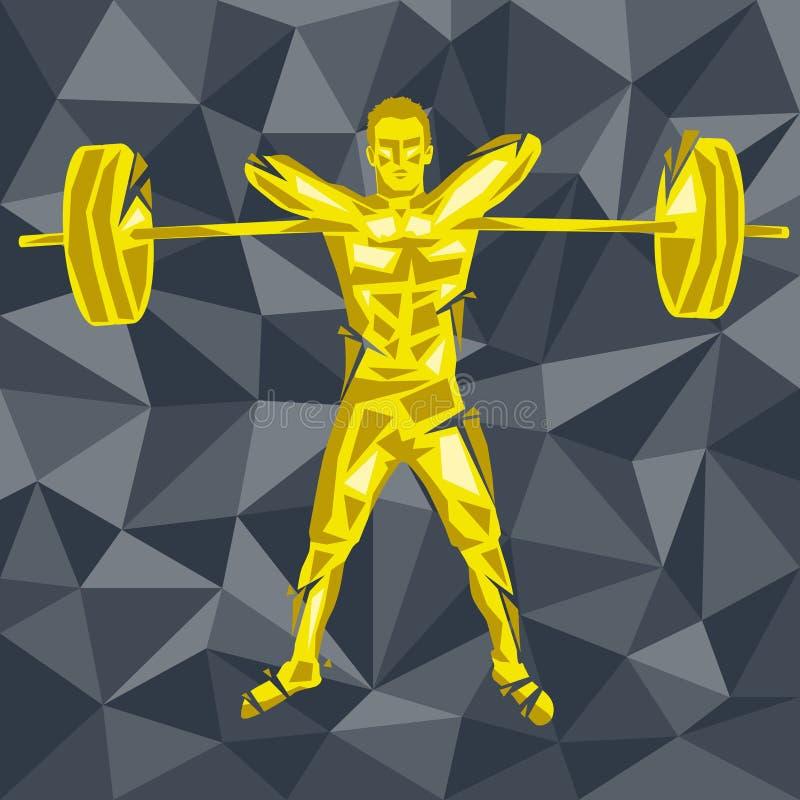 CrossFit 29 皇族释放例证