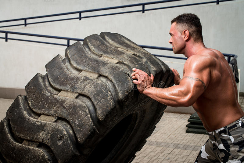 Crossfit training stock photos