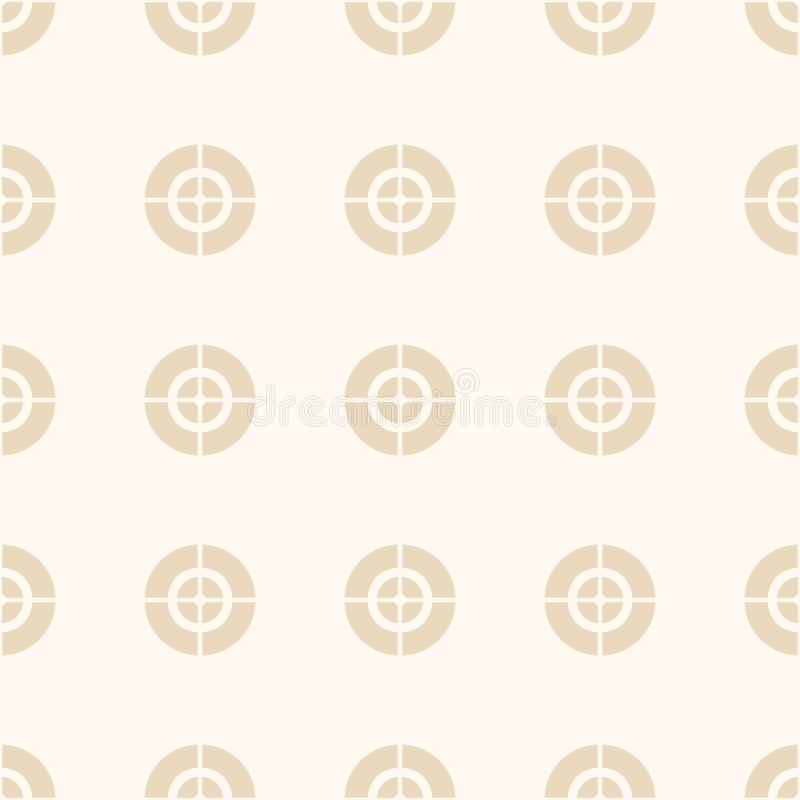 Crosshair, doel, optisch gezichtspatroon vector illustratie