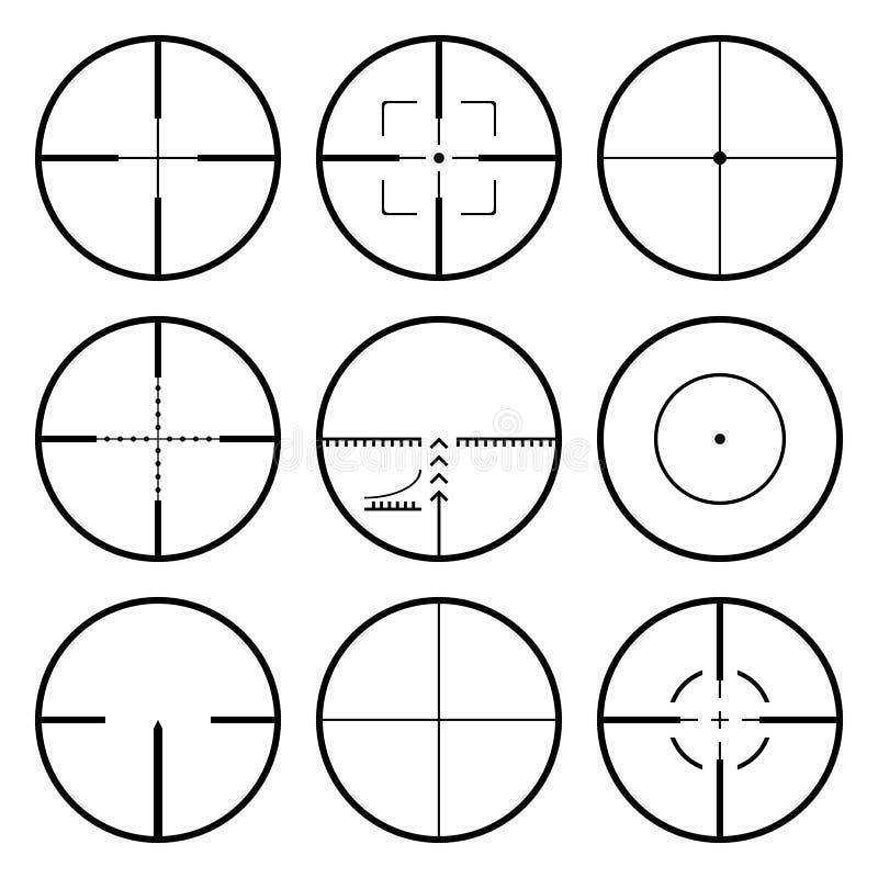Free Crosshairs Set Stock Photos - 15047043