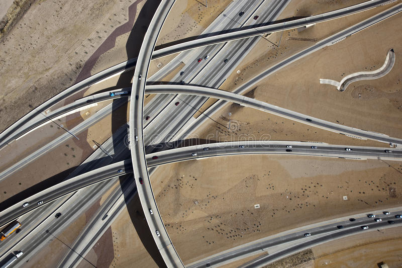 Download The Crossing Interchange stock image. Image of traffic - 26091173