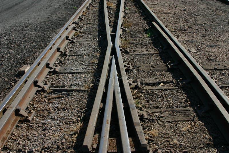 Download Crossing railway stock photo. Image of change, railway - 195238