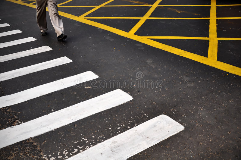 Download Crossing The Road Stock Photo - Image: 8861680