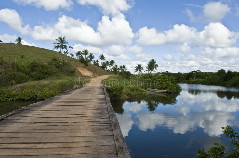 Download Crossing water stock photo. Image of bahia, obsolete - 17719510