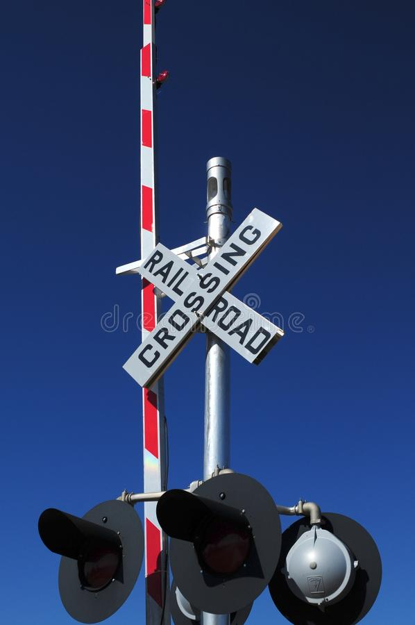 crossingguard royaltyfri bild
