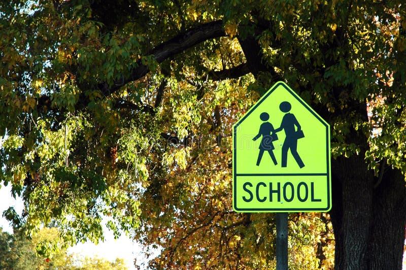 crossingskola royaltyfria bilder