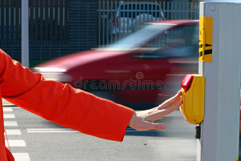 crossingväg royaltyfri bild