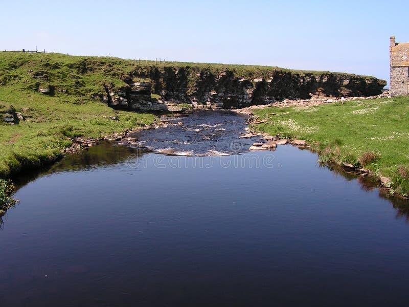 Download Crosskirk Landscape. Stock Image - Image: 837961
