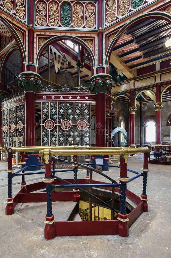 Crossness-viktorianische Pumpstation stockbilder