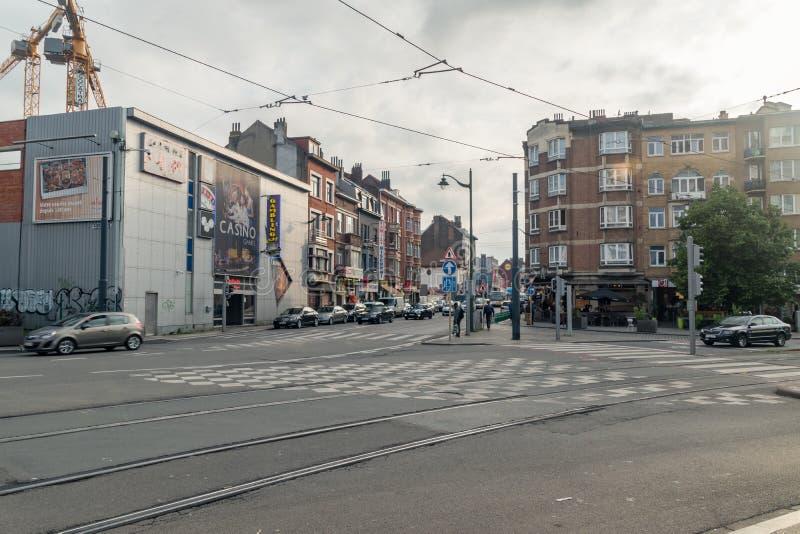 Crossroad (metropolitana di Londra) immagine stock libera da diritti