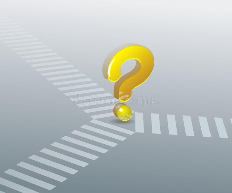 Download Crossroads stock vector. Image of business, cross, metaphor - 15944142