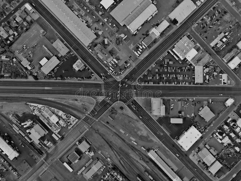 crossroads fotografia stock