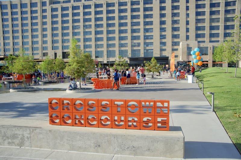 Crosstown Concourse świętowanie, Memphis, Tennessee zdjęcie stock