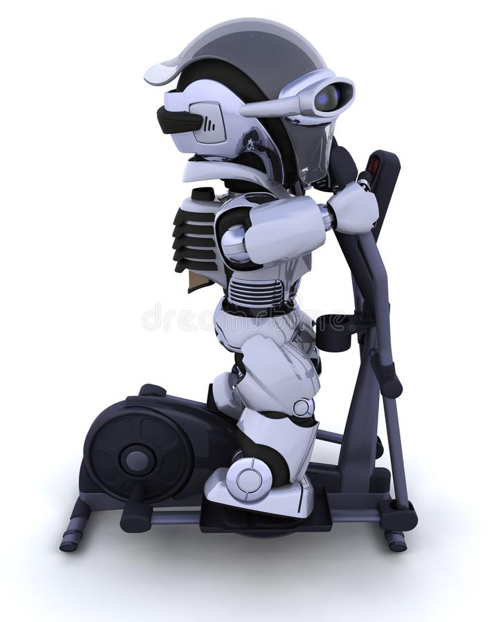 Download Crosstrainer stock illustration. Image of health, technology - 17827290