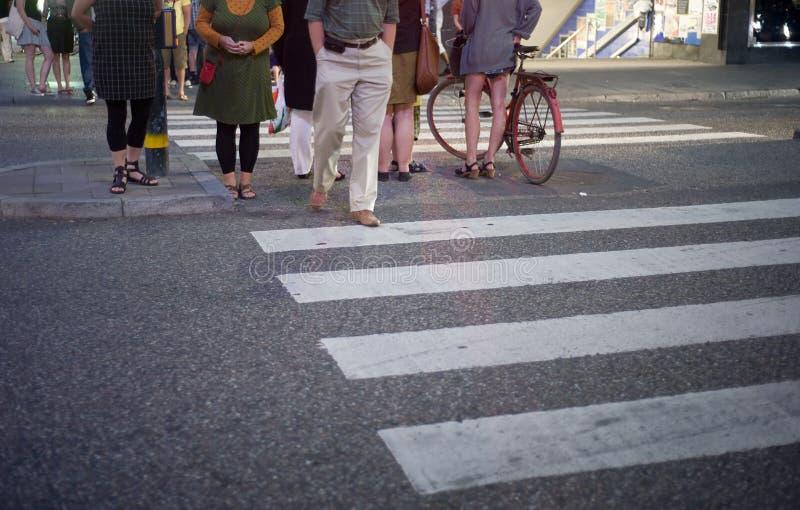 Crosswalk stock image