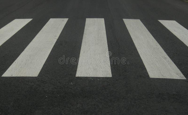 crosswalk stock afbeelding