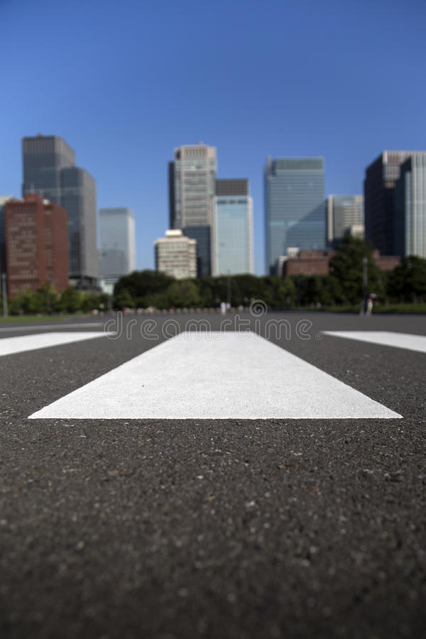 crosswalk stock foto