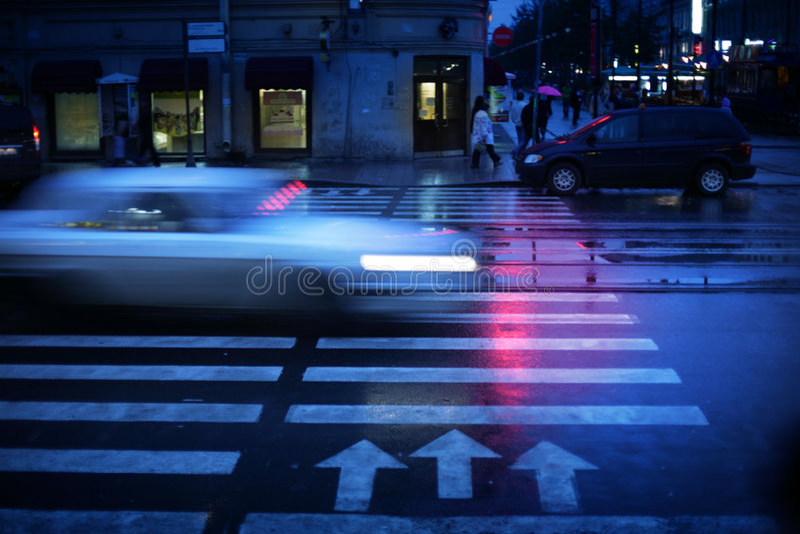 crosswalk стоковое изображение rf