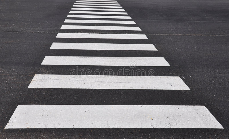 Crosswalk imagem de stock royalty free