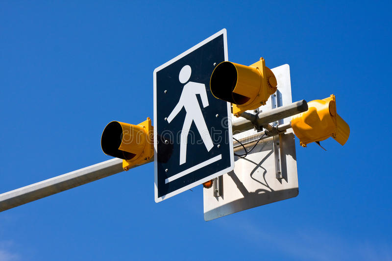 Download Crosswalk stock image. Image of person, pedestrian, walk - 9600213