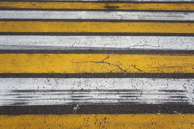 crosswalk Fußgängerübergangmarkierung lizenzfreie stockfotos
