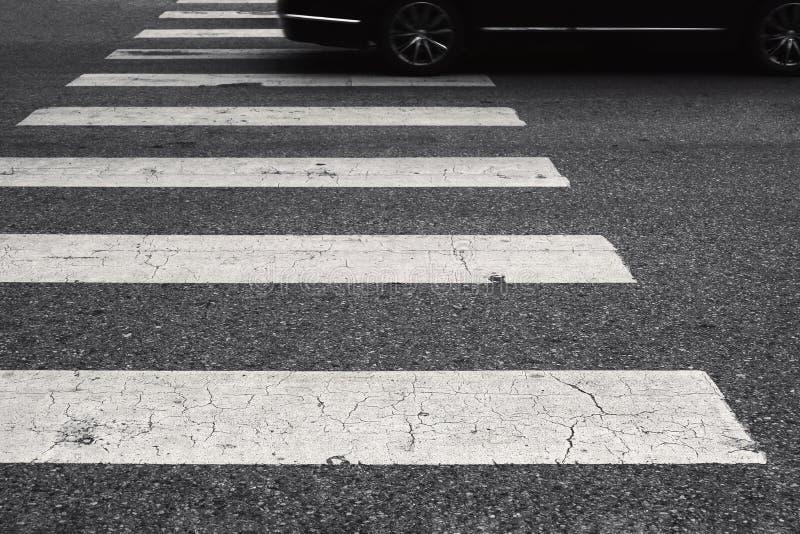 Crosswalk for pedestrian royalty free stock image
