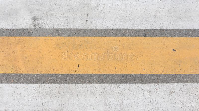 Crosswalk on the road Pedestrian pathway on a street crossing stock image