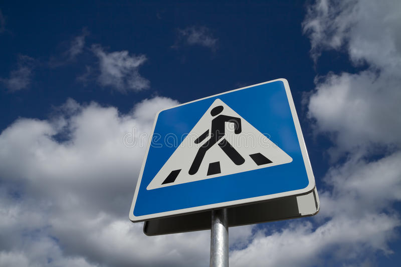 Download Crosswalk road sign stock photo. Image of signage, concept - 20961812