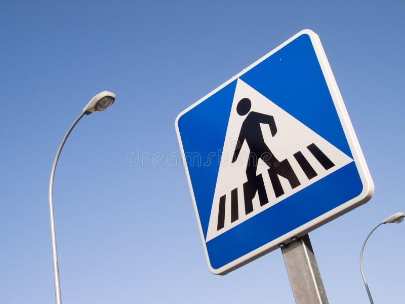Crosswalk sign royalty free stock photography