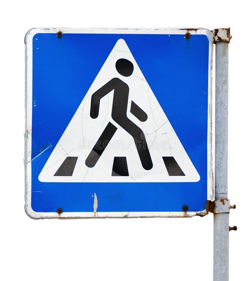 Crosswalkzeichen stockfotos