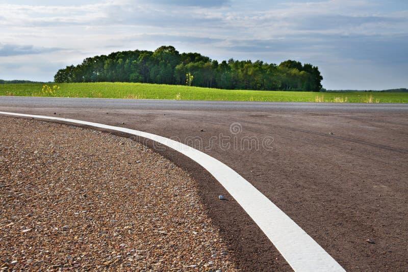 Crossway дороги сельской местности стоковая фотография
