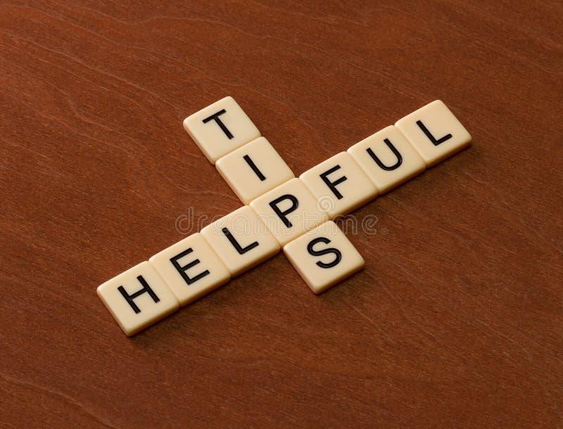 Crossword łamigłówka z słowo Pomocniczo poradami Podróż przewdonika pojęcie zdjęcie stock